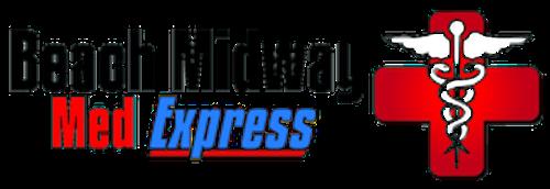 beach midway med express logo